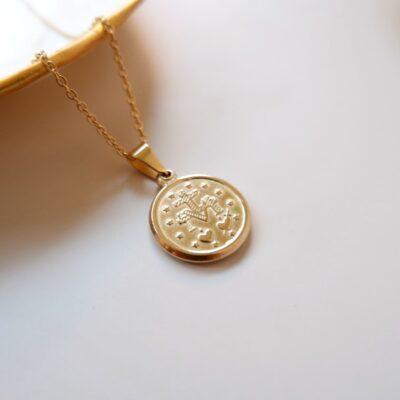 Adelina- Necklace -back