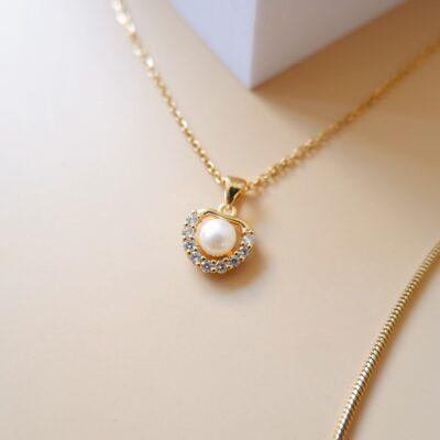 Cassia Pearl necklace23
