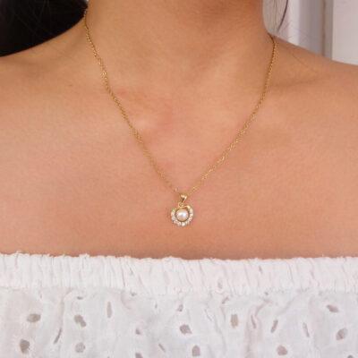 Cassia Pearl necklace5
